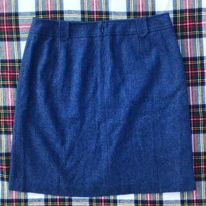 Talbots Skirts - NWT- Talbots Wool Pencil Skirt Blue